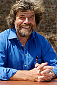 Reinhold Messner, Extreme Mountaineer and author, MMM, Messner Mountain Museum, South Tyrol, Italy