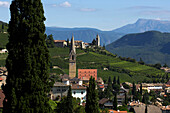Mountain village, St. Jakob in Kastellaz, Kastellaz, Tramin an der Weinstrasse, South Tyrol, Italy
