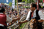 Tournament, Oswald von Wolkenstein Ritt, Event 2007, Proesels, South Tyrol, Italy