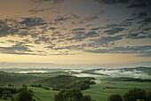 Scenery near Nuerburg, Eifel, Rhineland Palatinate, Germany