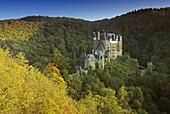 Eltz castle near Wierschem, Eifel, Rhineland Palatinate, Germany