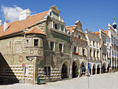 Telc, South Moravia, Czech Republic