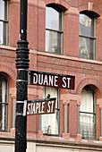 Tribeca, NYC, Street Sign