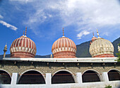 Domes of the Shahi Mosque, Chitral, Pakistan