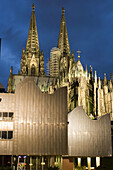 Cathedral and Ludwig Museum. Koln (Colonia). Germany
