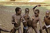 Kong fu practice African style, Ethiopia