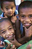 Boys in Iloilo, Panay, Philippinies