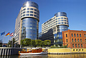 View over river Spree to Federal Ministry of the Interior, Berlin, Germany