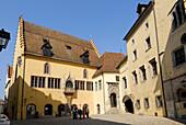 Old town hall, Regensburg, Upper Palatinate, Bavaria, Germany