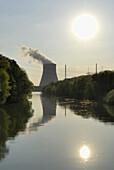 Isar II Nuclear Power Plant, Niederaichbach near Landshut, Lower Bavaria, Germany