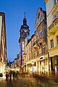Pedestrian area in Old Town, Heidelberg, Baden-Wurttemberg, Germany