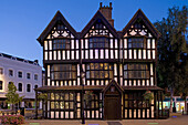 Hereford, High Town, Old House, timber-framed building, built in 1621, museum of daily life in Jacobean times, Herefordshire, UK