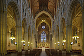 Northern Ireland, Armagh, St Patricks Catholic Cathedral, neo-gothic style, 1840-1873, Co. Armagh, UK