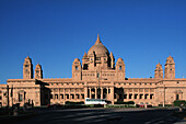 India, Rajasthan, Jodhpur, Umiad Bhawan Palace, built over 15 year 1929-1944, designed by British Royal Institute of Architects