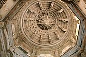 India, Rajasthan, Ranakpur, Adinath temple, built 15th century, Parshvanathas Jain temple, Suparshvanath Jain Temple, prostitute temple