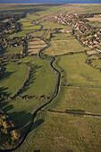Cley Village and Glaven Valley Norfolk UK October