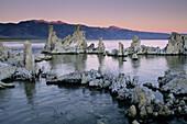 Tufa Tower formations at dawn, South Shore, Mono Lake, Eastern Sierra, California