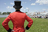 Circus, Coat, Color, Colour, Contemporary, County, Entertainment, Event, Fairgrounds, Family, Fest, Kenosha, Kid, Performance, Red, Ringleader, Ringmaster, The, Top Hat, Ultimate, Wisconsin, G14-747174, agefotostock