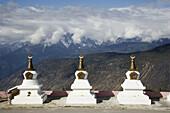 China  Yunnan  Shangri-La region  Dequin, called Shangri-La  on the Tibetan Border Buddhist Stupas