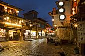 China  Yunnan  Shangri-La region Zhongdian, now called Shangri-La  on the Tibetan Border Buddhist Stupa