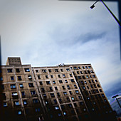 Building, Buildings, cities, city, Cloud, Clouds, Color, Colour, Condominium, Condominiums, Contemporary, Daytime, exterior, Housing, Nobody, outdoor, outdoors, outside, Urban, K66-722940, agefotostock