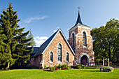 The Trinity Episcopal Church in Shelburne, Vermont, USA