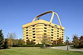 Longabergers Home Office Zanesville Ohio U S  seven story building basket