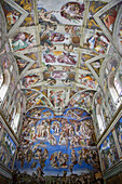 Michelangelo's Sistine Chapel and The Last Judgement, Rome, Italy