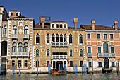 Gran Canal palaces. Venice, Italy.