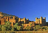 Morocco, near Quarzazate, Ait Benhaddou, Exotic Kasbah