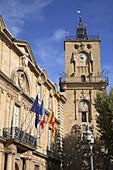 Hôtel de Ville, town hall. Aix en Provence. Provence. France.