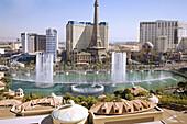 Bellagio Fountains, Las Vegas, NV, USA