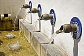 Fuente del Algarrobo fountain, Algodonales. Pueblos Blancos (white towns), Cadiz province, Andalucia, Spain