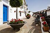 Street, Mijas. Pueblos Blancos (white towns), Costa del Sol, Malaga province, Andalucia, Spain