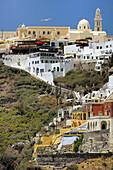 Apartments and Hotels at Crater Rib of Santorini