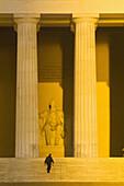 The Lincoln Memorial, Washington D C, U S A