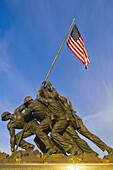 Iwo Jima Memorial in Arlington, Virginia, Washington D C, U S A
