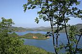 mochima national park, bahia de mochima, estado sucre, venezuela