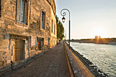 Rhône river, Arles. Bouches-du-Rhône, France