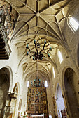 Iglesia parroquial de Santa María (gótico levantino - siglo XVI); Sádaba; Comarca de Las Cinco Villas; Zaragoza; Aragón; España