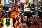 childhood, Color, Colour, Concept, Concepts, detail, details, Guitar, Guitars, indoor, indoors, infancy, interior, learn, learning, Many, Music, Musical instrument, Musical instruments, Object, Objects, Sound, Sounds, Still life, String instrument, String