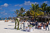 Hotel Constance Belle Mare plage , wedding ceremony on the beach, Mauritius, Africa