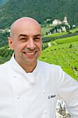 Gerhard Wieser, chef in restaurant Trenkerstube, Hotel Castel, Dorf Tirol near Meran, South Tyrol, Italy