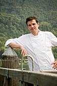 Gourmet restaurant Überfahrt, chef Christian Juergens, Rottach-Egern, Lake Tegernsee, Upper Bavaria, Bavaria, Germany