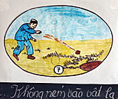Vietnam  Mine risk education program