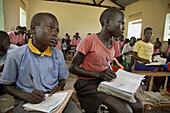Africa, Child, Children, Color, Colour, Education, Horizontal, Sahara, School, Sub, D63-763700, agefotostock