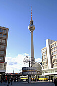 D, Germany, Europe, Berlin, Capitol, Alexanderplatz, TV Tower, Television Tower, World Timer