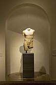 Torso of Discophoros. Prado Museum. Madrid. Spain
