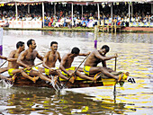 Boat Race in Kerala  Colourful water sport in Kerala, is conducted at Punnamada lake in Alappuzha on the second saturday of every August in the memory first Indian Prime Ministare Pandit Nehru  Alleppy Alappuzha, Kerala, India