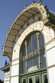 Karlsplatz subway station. Vienna. Austria (architect: Otto Wagner)